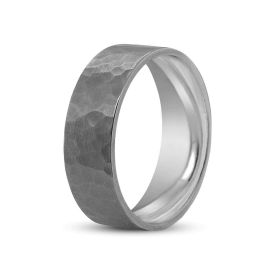 Picture of Hammered Wedding Band