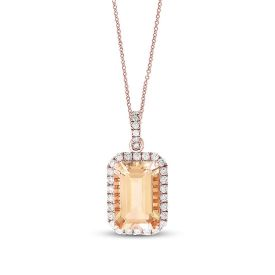 Picture of Morganite Diamon Locket